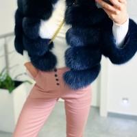 Starorůžové kalhoty Amber vel S a M