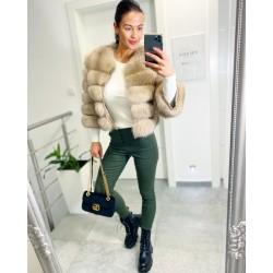 Khaki kalhoty Amber vel S a M