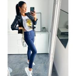 Modré kalhoty Lora vel S