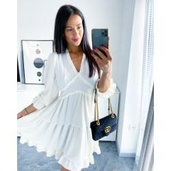 Bílé šaty Dora