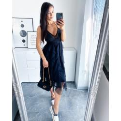 Černé  šaty Roses