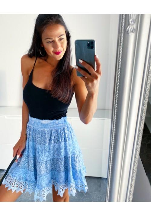 Modrá sukně Madeira