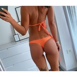 Neon oranžová tanga Luci