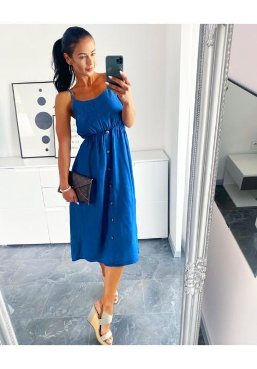Riflové šaty Italy