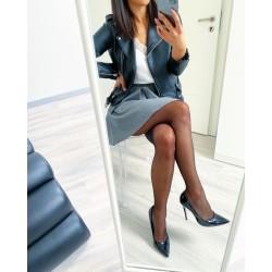Punčochové kalhoty Francesca 20den S/M s Lurexem