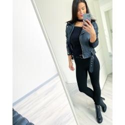 Černé kalhoty ZARA