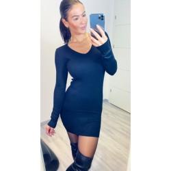 Černé šaty Cayen