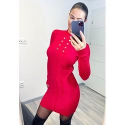 Rudé šaty Clips
