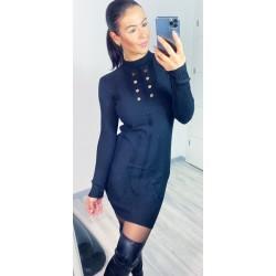 Černé šaty Clips