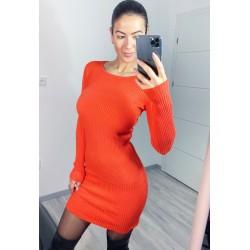 Oranžové šaty Mocan