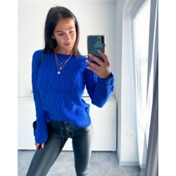 Modrý svetr Craft