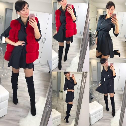 Černé šaty Dana