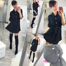 Černé šaty Naomi