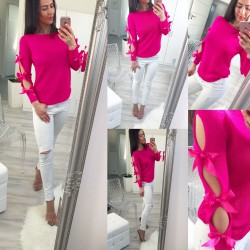 Fuchsiový svetr Loly