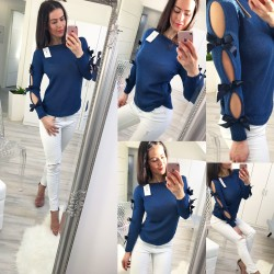 Tmavě modrý svetr Loly