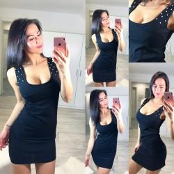 Černé šaty Stylo