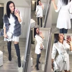 Bílé šaty Dana
