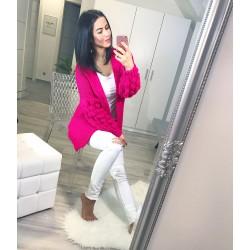 Luxusní fuchsiový svetr
