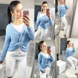 Baby blue svetr Milano