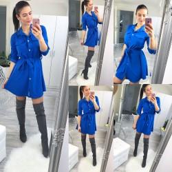 Královsky modré šaty Naomi