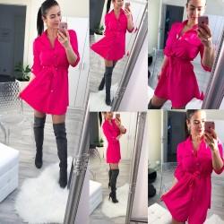 Fuchsiové šaty Naomi