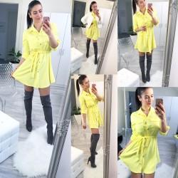 Pastelově žluté šaty Naomi