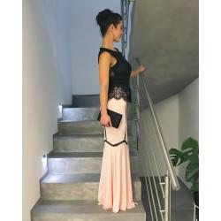 Plesové luxusní dlouhé šaty _BAZAR 1x nošeno